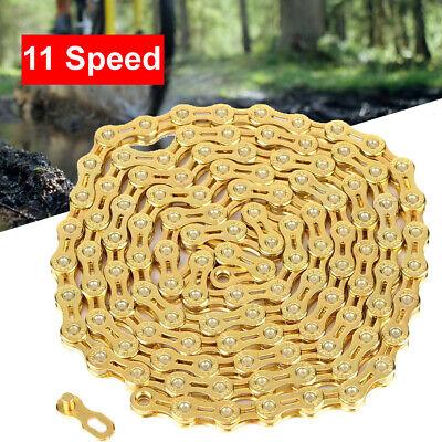 "10  SPEED 116 LINKS MOUNTAIN BIKE ROAD BIKE NARROW  CHAIN KMC /""TEP/"" BRAND"