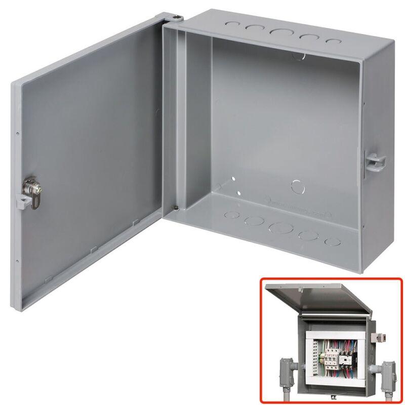 """Arlington Outdoor Electric Cabinet Enclosure Box Heavy Duty Plastic 12"""" x 12"""""""