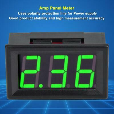 0.56in Led Digital Display Dc 0-10a 2-wire Ammeter Current Amp Panel Meter