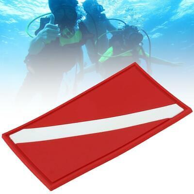 Two Piece Inner Tube Mount Flag Holder Diver Down Flag Marker Scuba Diving DF312