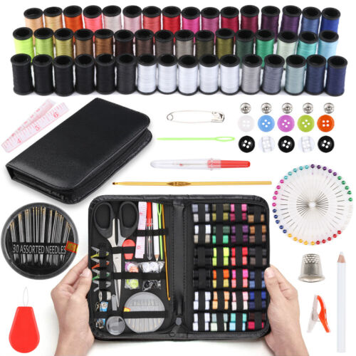 172Pcs Embroidery Sewing Supplies Tools for Home Office Dress and Clothes Repair