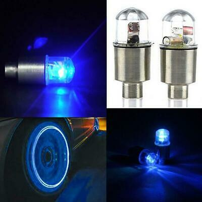 1 Pair LED Cycling Bike Bicycle Neon Car Wheel Tire Valve Caps Wheel Lights UP](Light Up Tire Caps)