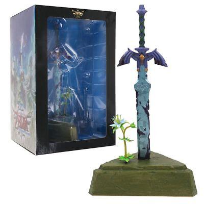 The Legend of Zelda Breath of the Wild Swing Mascot Master Sword Statue In (Sword Statue)