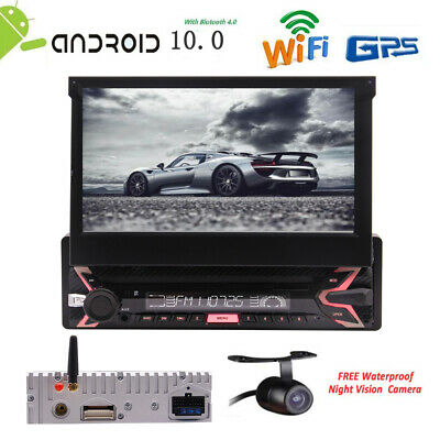 "7"" 1Din Android 10.0 In dash Car stereo Radio GPS Car Audio Bluetooth FM Radio"