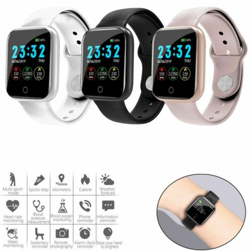 Sports Smart Watch Fitness Tracker Heart Rate Monitoring Watch for Men Women Cell Phones & Accessories