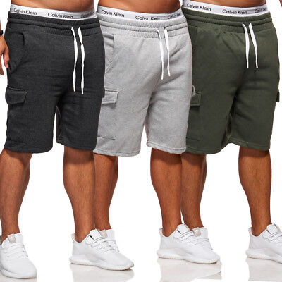 BEHYPE Shorts Jogginghose Trainingshose Kurze Capri Hose Sweat-Bermuda NEU Training Capri-hosen