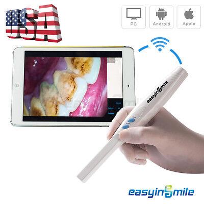 Easyinsmile Wifi Dental Intraoral Camera Wireless 3.0 Mega Pixels Hd Clear Image