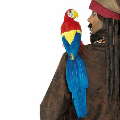 Parrot With Elastic Strap Pirate Macaw 20