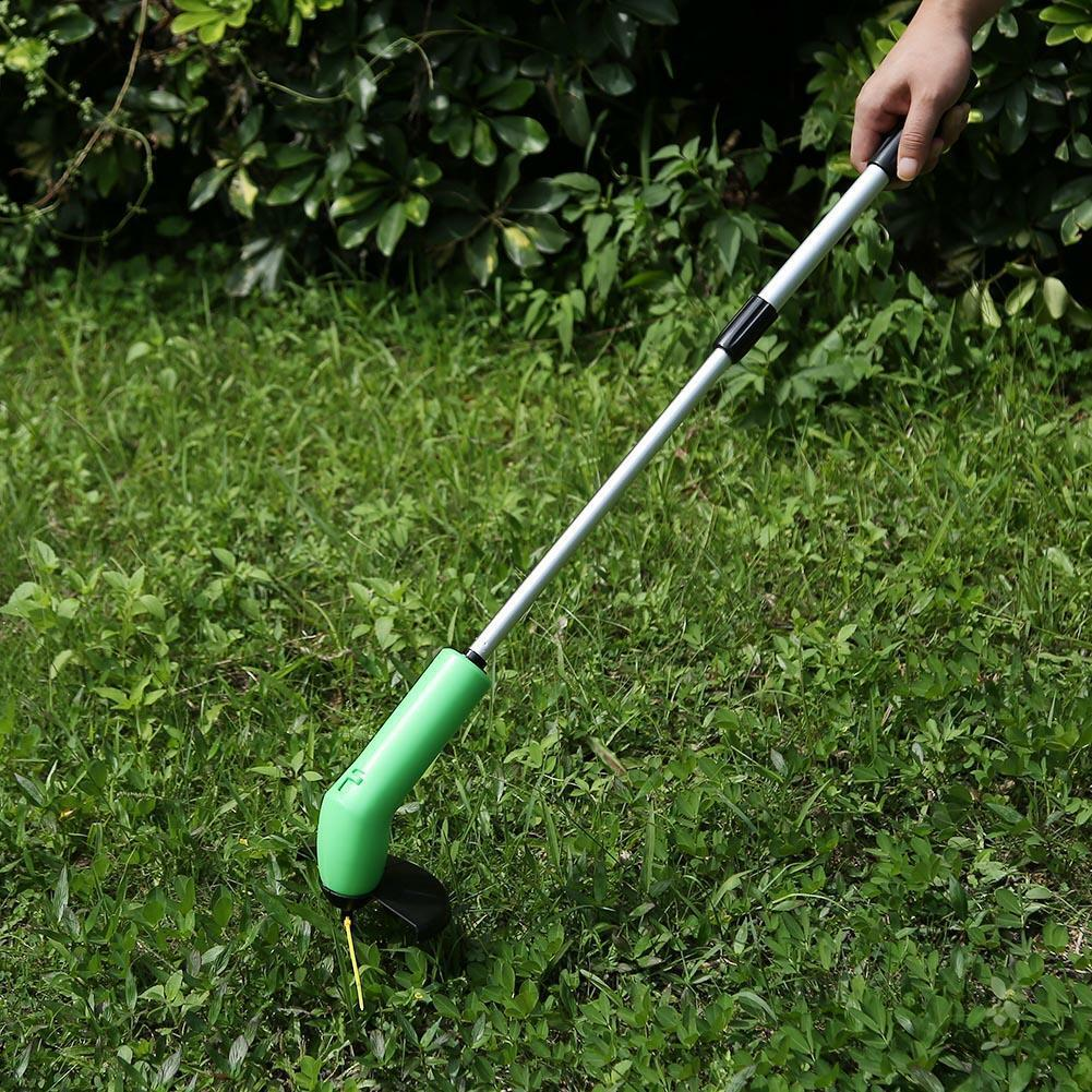Portable Grass Trimmer Cordless Garden Lawn Weed Eater Cutte