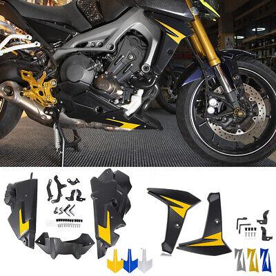 Bellypan Engine Spoil w/ Radiator Side Fairing for 2014-2016 Yamaha FZ MT FJ 09