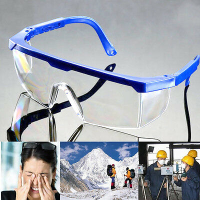 Safety Clear Glasses Goggles Range Eye Protection Impact Resistant For Welding