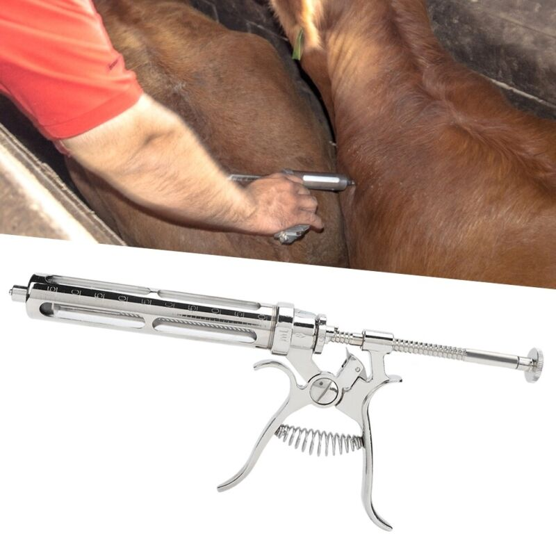 50ml Semi-Automatic Continuous Veterinary Syringe Injection Sampler Livestock