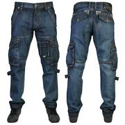 Mens Denim Combat Jeans