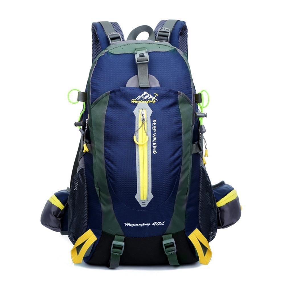 323fc96142 40L Mountaintop Water-resistant Hiking Daypack Camping Backpack With Rain  Cover