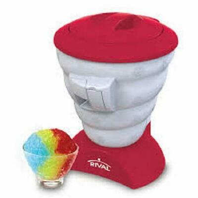 Rival Frozen Delights Home Shaved Ice Snow Cone Maker Refurbished Open Box