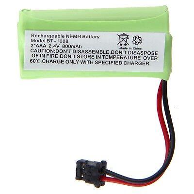 2.4V 800mAh Cordless Home Phone Battery For Uniden BT-1008 BT1008, BT-1008S New