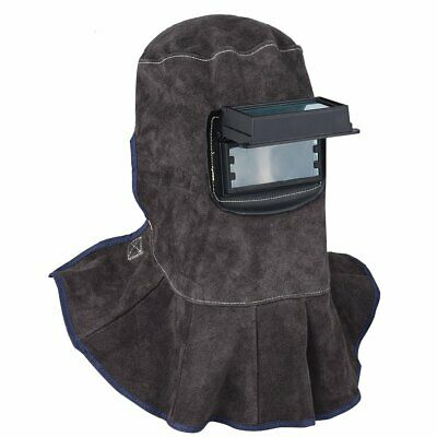 Tooltoo Leather Welding Hood - 3 In 1 Welding Helmet Face Mask