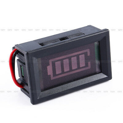 Hot Sale 12V Lead-acid Batteries Battery Indicator Capacity LED Tester Meter