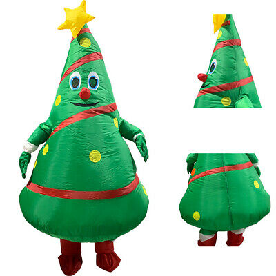 Halloween Funny Inflatable Christmas Tree Costume Party Cosplay Fancy Dress NEW ()