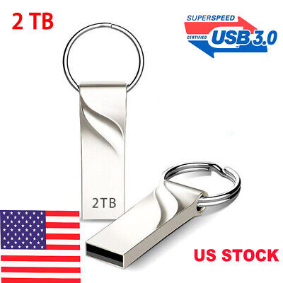 USB 2.0 Flash Drive 2TB High-Speed Data Storage Thumb Stick Store Movie Picture