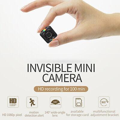 1080P HD Mini Spy Hidden Camera Car Dash DV DVR Video Recorder Cam Night Vision