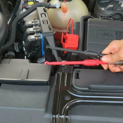 4mm Automotive Test Lead Kit Power Probe Wire-piercing Clip Tools 2 Pcs