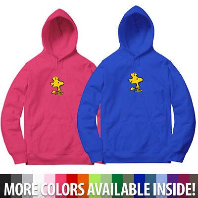 Graphic Pullover Hoodie - Bird Woodstock Cartoon Graphic Mens Unisex Hoodie Sweater Sweatshirt Pullover