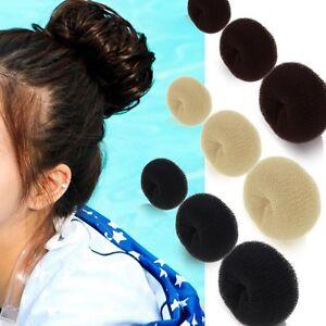 women femmes boudin chignon cheveux rouleau bigoudis bandeau coiffure donut hair ebay. Black Bedroom Furniture Sets. Home Design Ideas