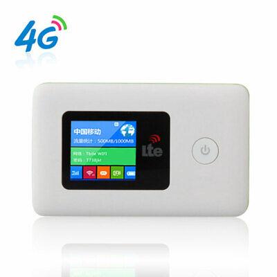 2000mAh 4G Wifi Wireless Router Mobile Broadband Hotspot Modem SIM Card Slot