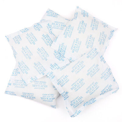 6 Packets 120 G Grams Silica Gel Desiccant Pack Moisture Absorber Reusable