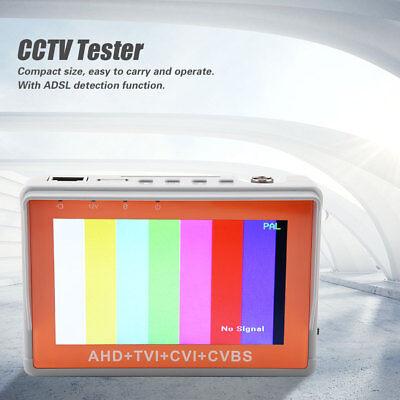 4.3 Inch 5mp Cctv Camera Tester Tvi Cvi Ahd Cvbs Test Security Analog Monitor