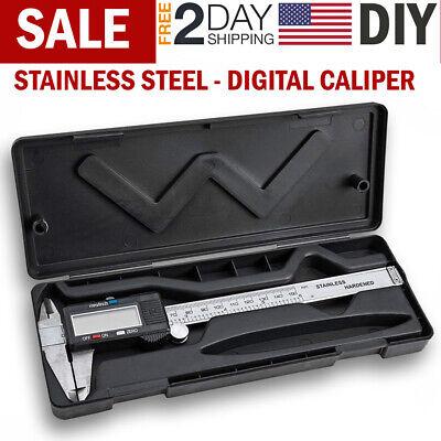 Stainless Steel Digital Caliper Vernier Micrometer Electronic Ruler Gauge - Stainless Caliper