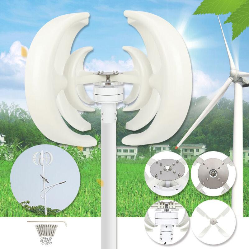 4000W DC12V 4 Blades Wind Turbine Generator Vertical Axis Energy Power