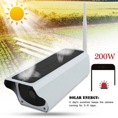 200W 1080P HD Wifi Solar IP Kamera im Freien drahtlose Überwachungskamera 105°