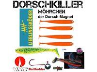 SET LK Mörchen Fox Rage Spikey DORSCHKILLER VMC BAITHOLDER 6//0 60 g