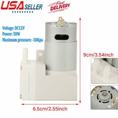 Mini Micro-pump Dc12v Vacuum Compressor Pump Negative Pressure Suction Pump
