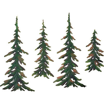 Evergreen Pine Tree Metal Wall Decor Set, by Collections Etc