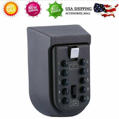 Wall Mount Combination Key Lock Box Security Storage Case Organizer Realtor