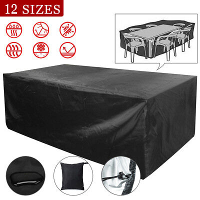 Patio Table/Chair Cover Garden Outdoor Furniture Winter Storage Protection ()