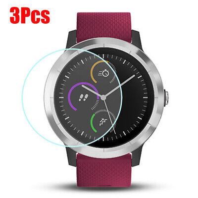 For Garmin Forerunner 220/935/235/620/645/735XT/630 3Pcs Watch Screen Protector
