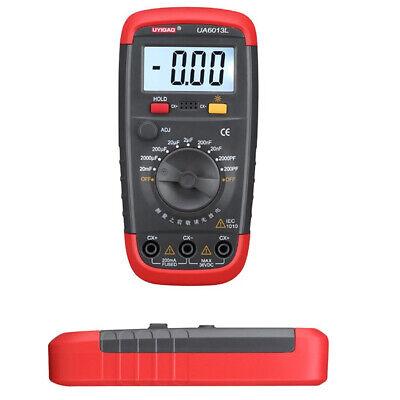 UA6013L Digital LCD Auto Range Capacitor Capacitance Tester Meter NEW BE