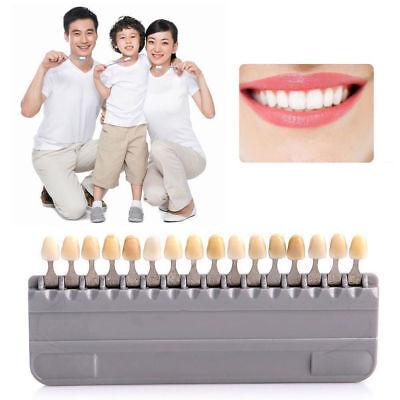 Durable Porcelain Teeth Dental Materials Vita 16 Colors Shade Guide Teeth