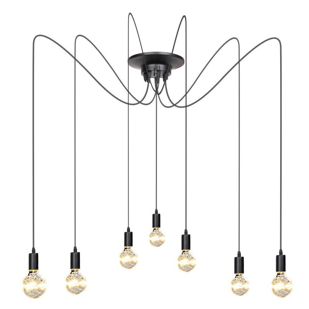 Vintage Edison Industrial Style DIY Chandelier Retro