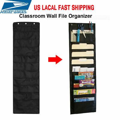 Hanging Files Office Letter Size Wall Mount Holder Storage Organizer 10 Pocket