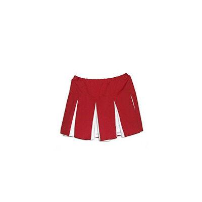 Red And White Costumes (Red And White Pleated Cheerleader Skirt Icebox Ice Box Costume)