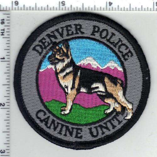 Denver Police (Colorado) Canine Unit Shirt/Jacket Patch - new