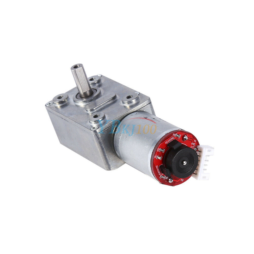 10 100rpm dc 12v gear box high torque geared motor for Dc gear motor with encoder
