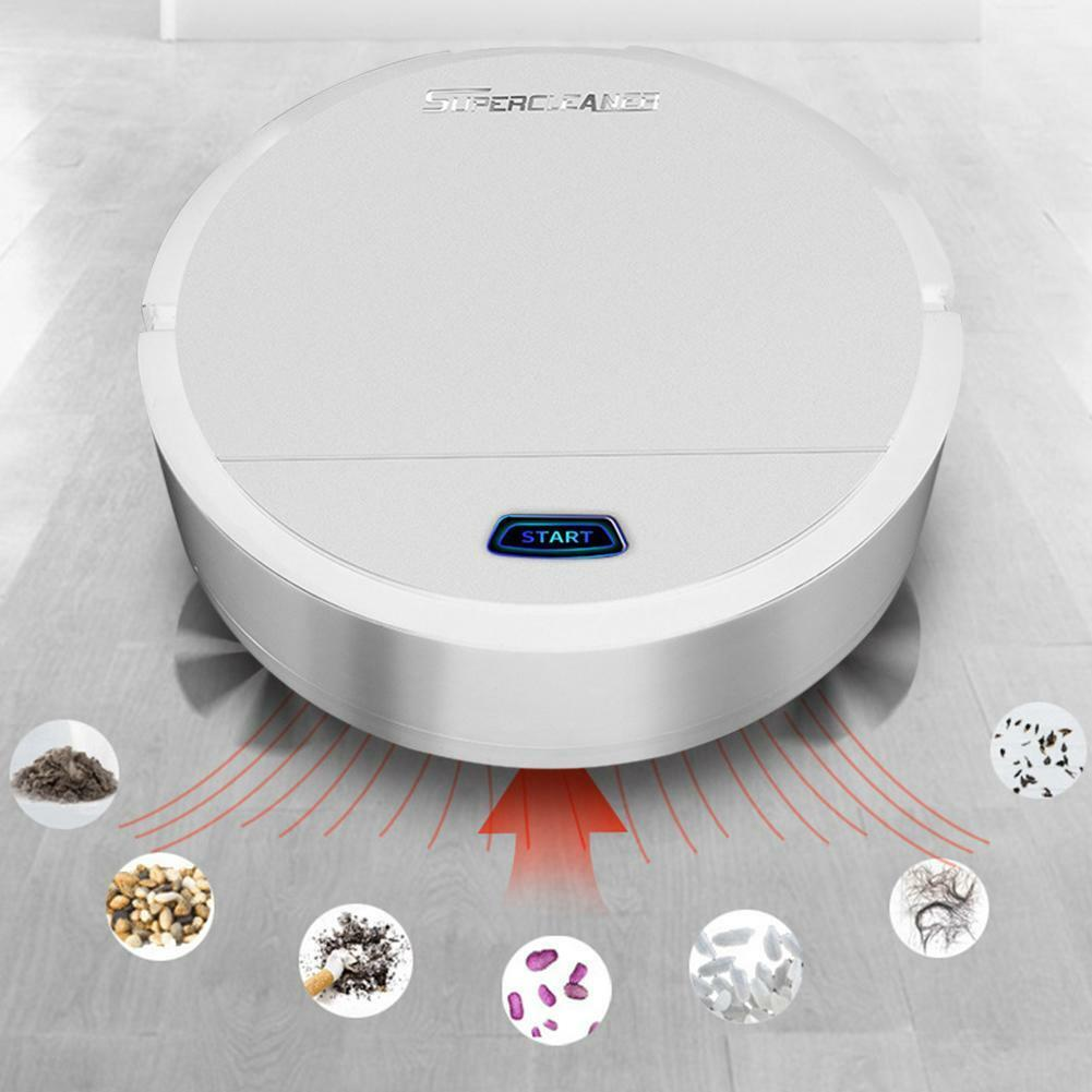 USB Rechargeable Home Smart Vacuum Cleaners Robot Automatic