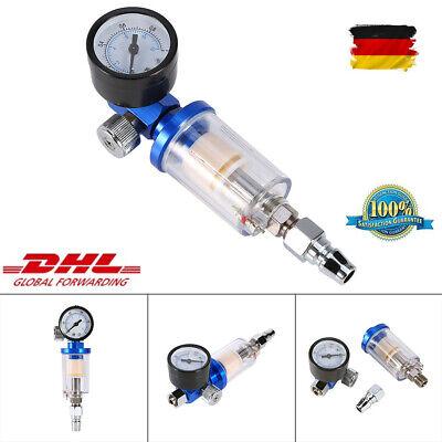 Pneumatische Spritzpistole Luftregler Inline Öl Wasserabscheider Abscheider Best (Pneumatische Spritze)