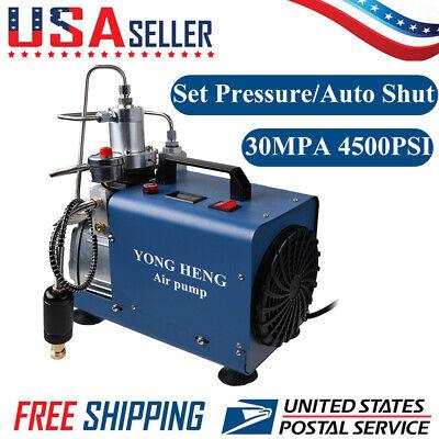 Yong Heng 4500psi High Pressure Pcp Air Compressor Pump Set-pressure Auto Shut